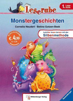 Leserabe mit Mildenberger. Monstergeschichten, http://www.e-librarieonline.com/leserabe-mit-mildenberger-monstergeschichten/