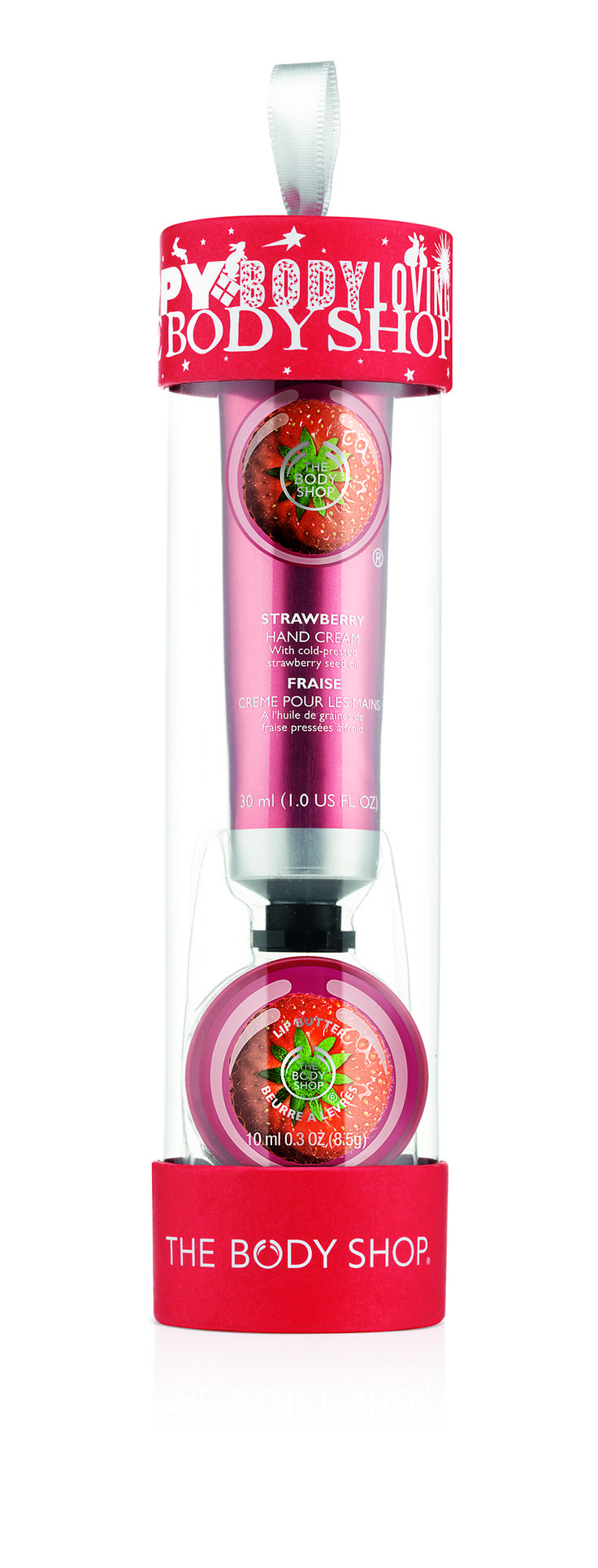 The Body Shop Soft Hands Warm Kisses Strawberry R110.00