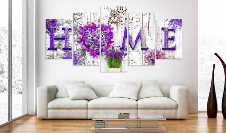 Obraz na plátně - Heather asylum #canvas #prints #obraz #decor #inspirace #home #barvy #pictureframes #homedecor