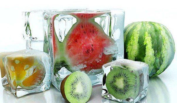 Готовим косметический лед дома