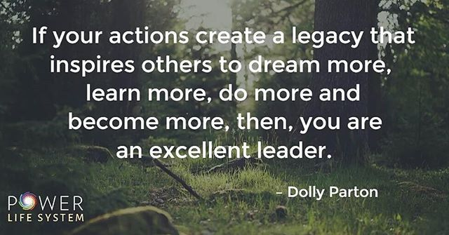 Are you an excellent leader?  #powerlifesystem