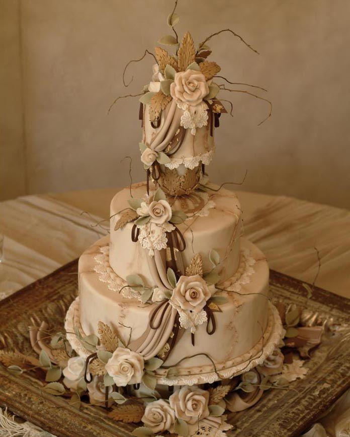 vintage wedding cake, Julia M Usher