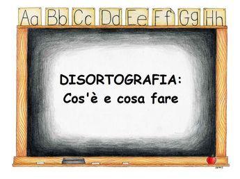 La Disortografia è un Disturbo Specifico di Apprendimento, una condizione caratterizzata da una specifica difficoltà nell'apprendimento della scrittura