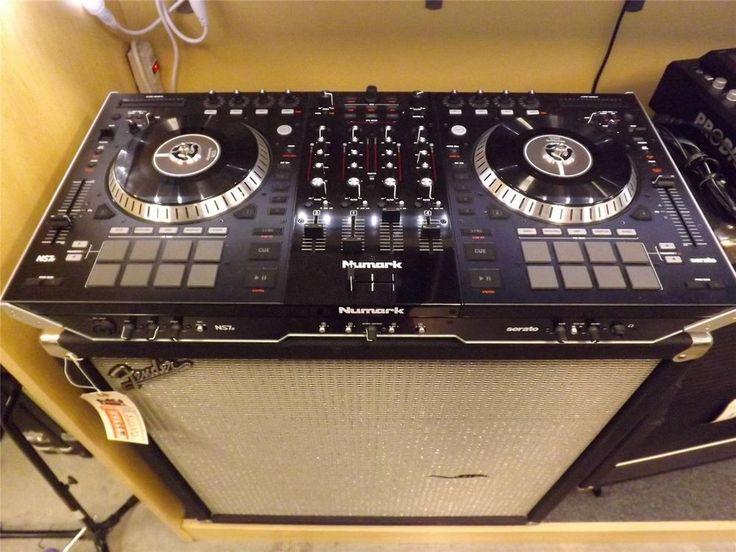 Used Numark NS7 II Motorized DJ Controller and Mixer #Numark