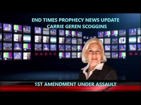 "1ST AMENDMENT UNDER ASSAULT, Carrie Geren Scoggins  https://youtu.be/HaZCG-a9eJ4 <-link to  END TIMES PROPHECY NEWS UPDATE,  Carrie Geren Scoggins,   ""1ST AMENDMENT UNDER ASSAULT"" Democrats Chuck Schumer and Harry Reid head up attempts to ""amend the 1st Amendment."""