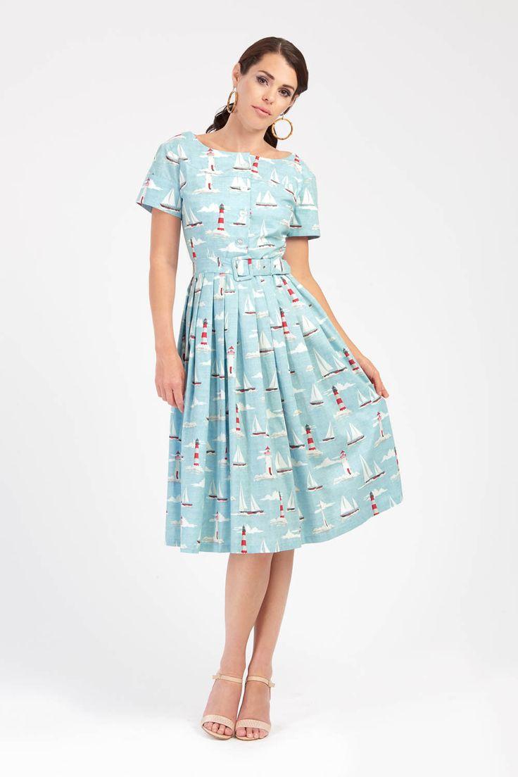 Isabelle - Short Sleeve Summer Dress