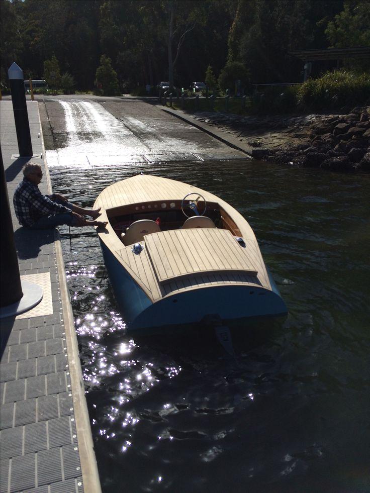 Donzi 16 Replica Wooden Speed Boat