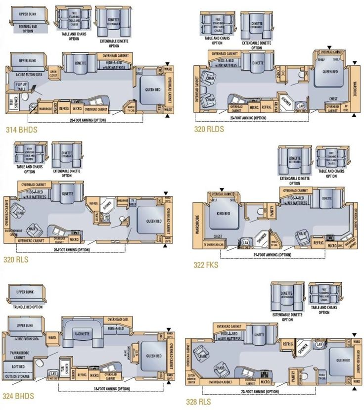 Bigfoot Rv Trailer Floor Plans Camper Wiz