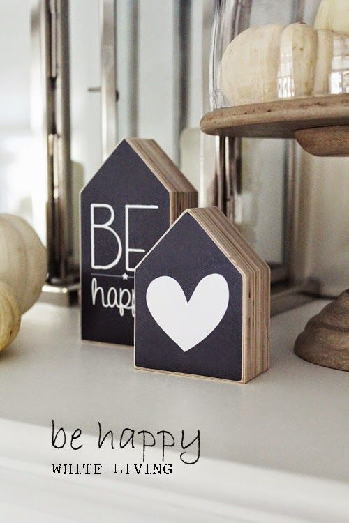 White Living: Be happy giveaway