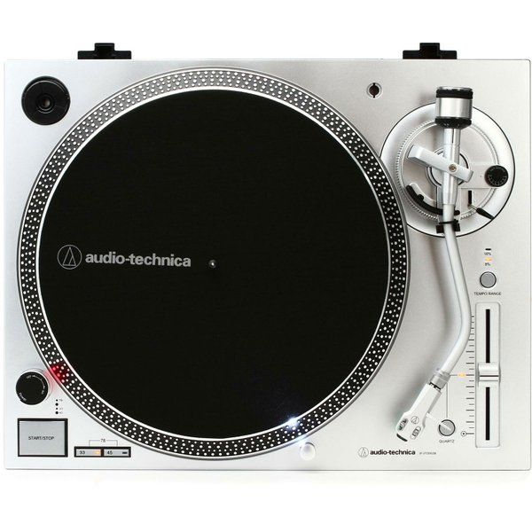 Audio Technica Atlp120xusbsv Direct Drive Turntable Analog Usb Silver Direct Drive Turntable Audio Technica Turntable