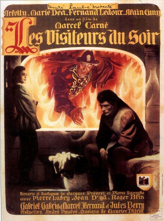 Ciné Mémoire : « Les Visiteurs du Soir », La Réole, Aquitaine