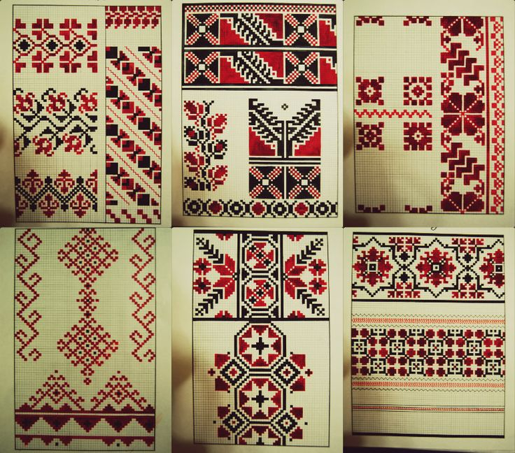Traditional Romanian and Moldavian Ornament by m1eme1m
