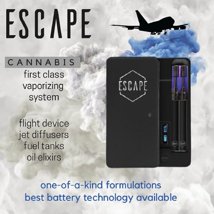 Subtle Escape Flight Vape Kit Case Open