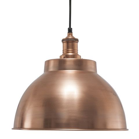 Our Unique Brooklyn Vintage Metal Dome Lamp Shade In
