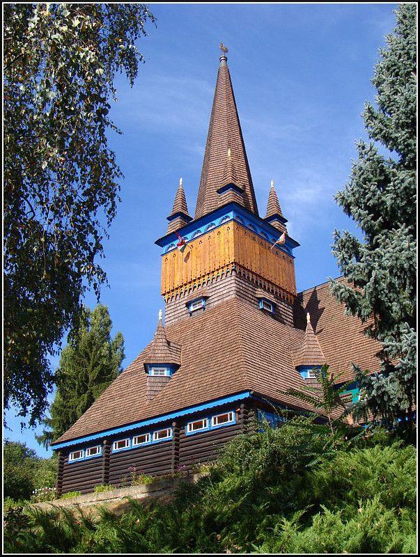 Wooden Church (Deszka templom) - Miskolc, Borsod-Abauj-Zemplen