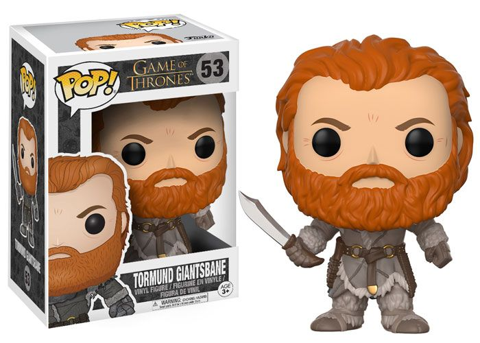 Game of Thrones: Tormund Giantsbane Pop by Funko, 2017 release