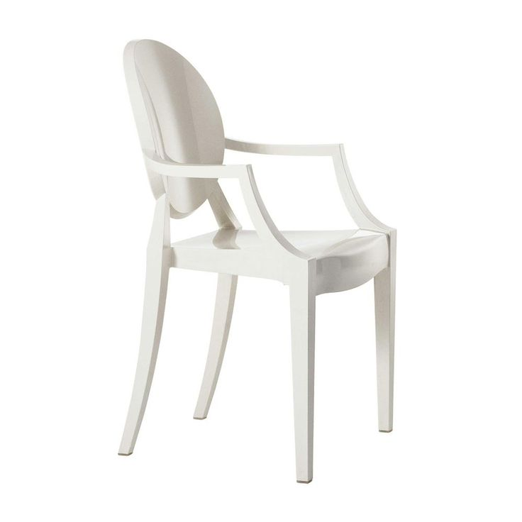 Polycarbonate chair white mod. Louis Ghost, Kartell. // Policarbonato silla blanca mod. Louis Ghost, Kartell. // Sedia in policarbonato bianco mod. Louis Ghost, Kartell. #chair #silla #sedia #polycarbonate #policarbonato #policarbonato #kartell