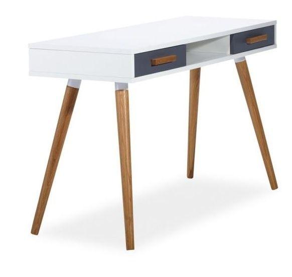 Skrivbord Linköping - Vit/Grå