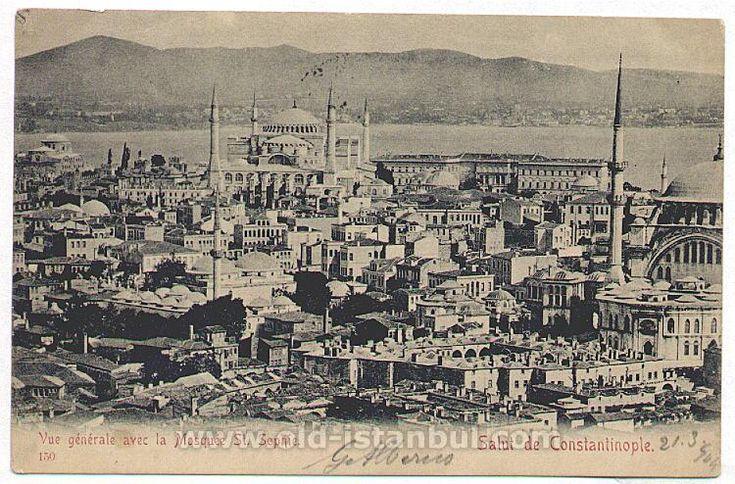 Istanbul Mosques -Ayasofy 1904