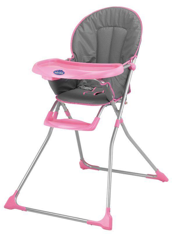 Safety 1st Babideal Kinderstoeltje   Grey & Pink  - Ultracompact- Eenvoudig in te klappen in twee bewegingen-Brede en comfortabele zitting-Tafeltje met bekerhouder- 3-puntsharnas-Geïntegreerde voetensteun  EUR 29.95  Meer informatie