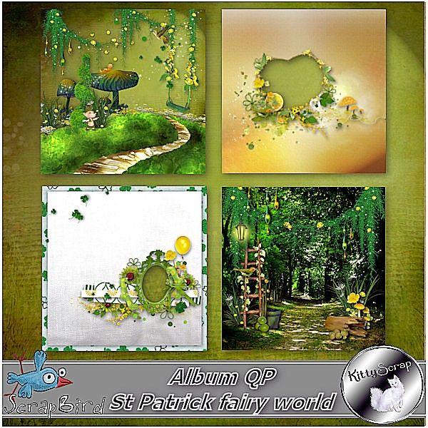 Album QP St Patrick fairy world by kittyscrap