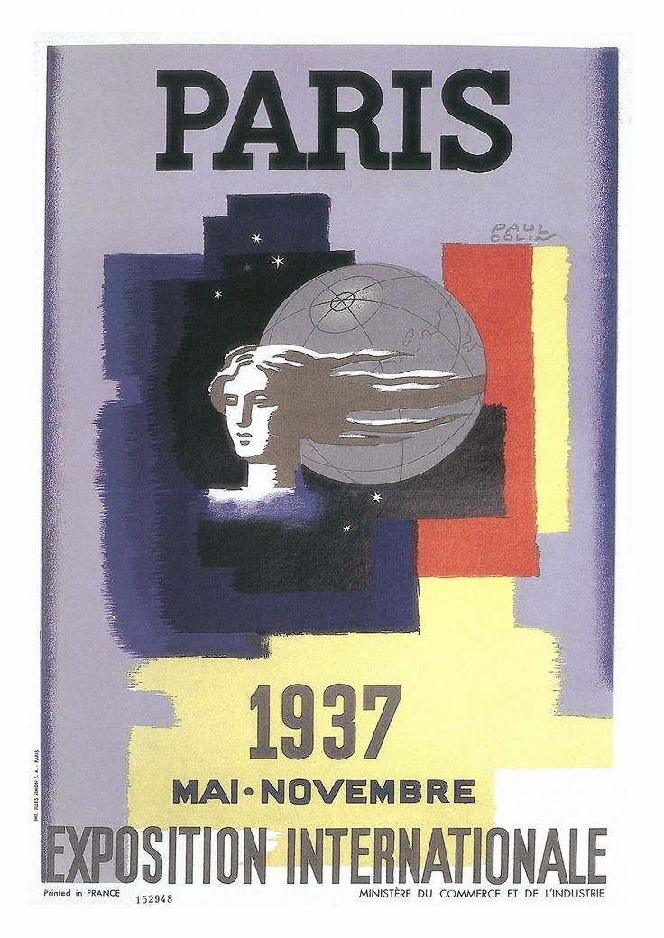 169. PAUL COLIN (1892-1985) París. 1937. Mai-Novembre. Exposition lnlernationale (Parls. 1937. Mayo-Noviembre. Exposición universol), 1937