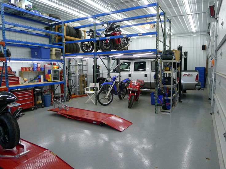 Work Garage With Loft : Metal building loft design ideas eve s the garage