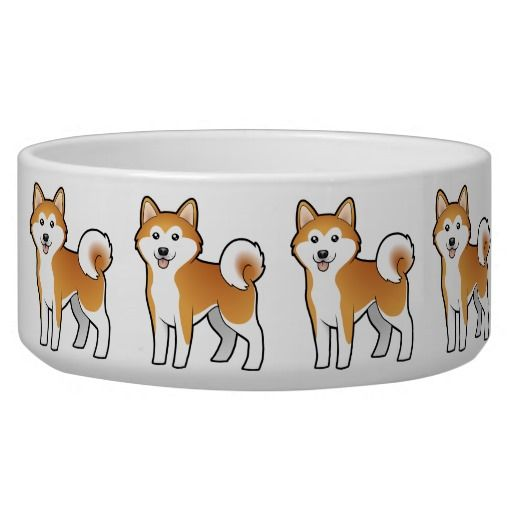 Shiba dog bowl