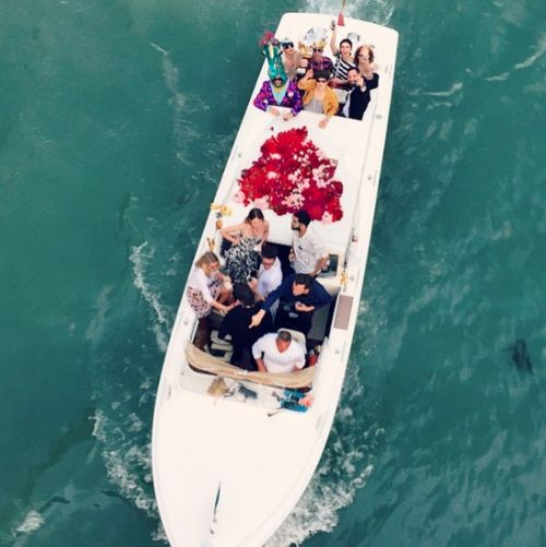 Venice boat party, June 2015.