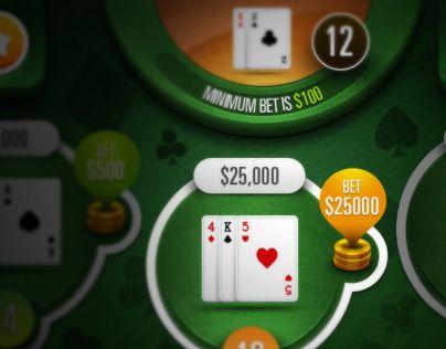 Mobile Blackjack Game