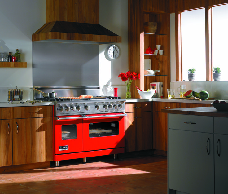 affordable red kitchen appliance designs gas stove set on red kitchen appliance
