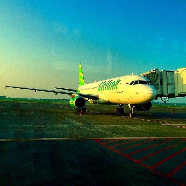 Citilink A320 at Jakarta in the morning Photo by  @steventsteven Instagram photo   Websta (Webstagram)