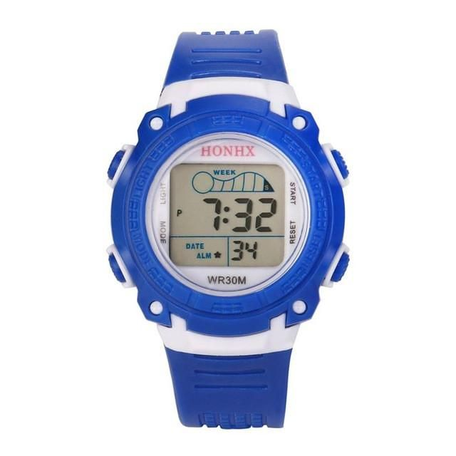 100% Quality Child Digital Watches Outdoor Sports Students Watch Waterproof Electronic Watches Teens Clock Lxh New Varieties Are Introduced One After Another Children's Watches