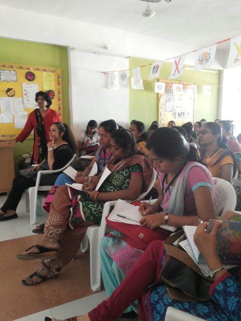 CPrS Teachers Training on 'Calorx Core Value & Role of a Pre school teacher' on 27/09/2014 ( Saturday) by Ms Asha Nambiar (  Head CPrS & GM  LDQ )