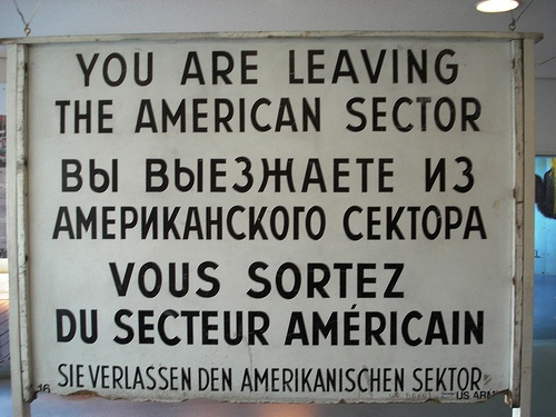 Checkpoint Charlie Museum, Berlin (2002)