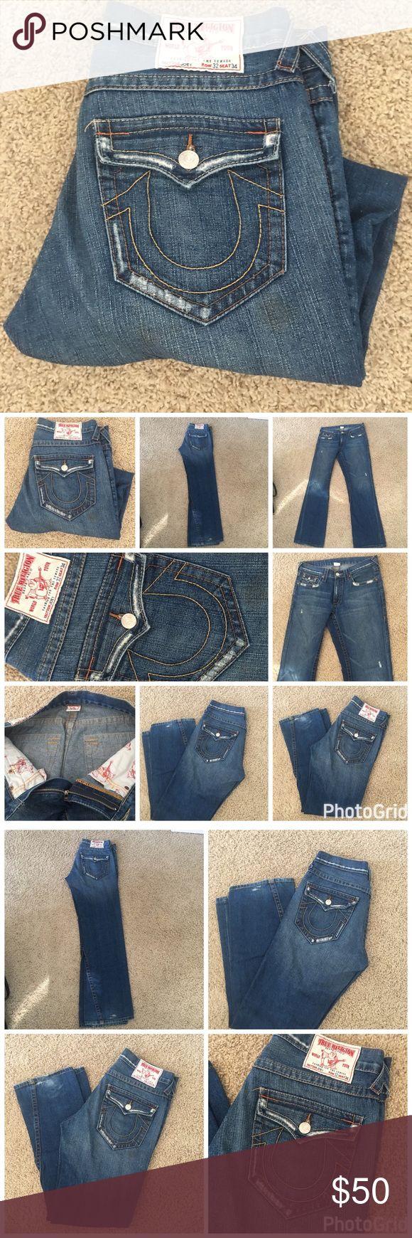 True Religion Men's Joey Jeans True Religion Men's Joey Jeans, good preowned condition. Size 32 inseam 34 True Religion Jeans