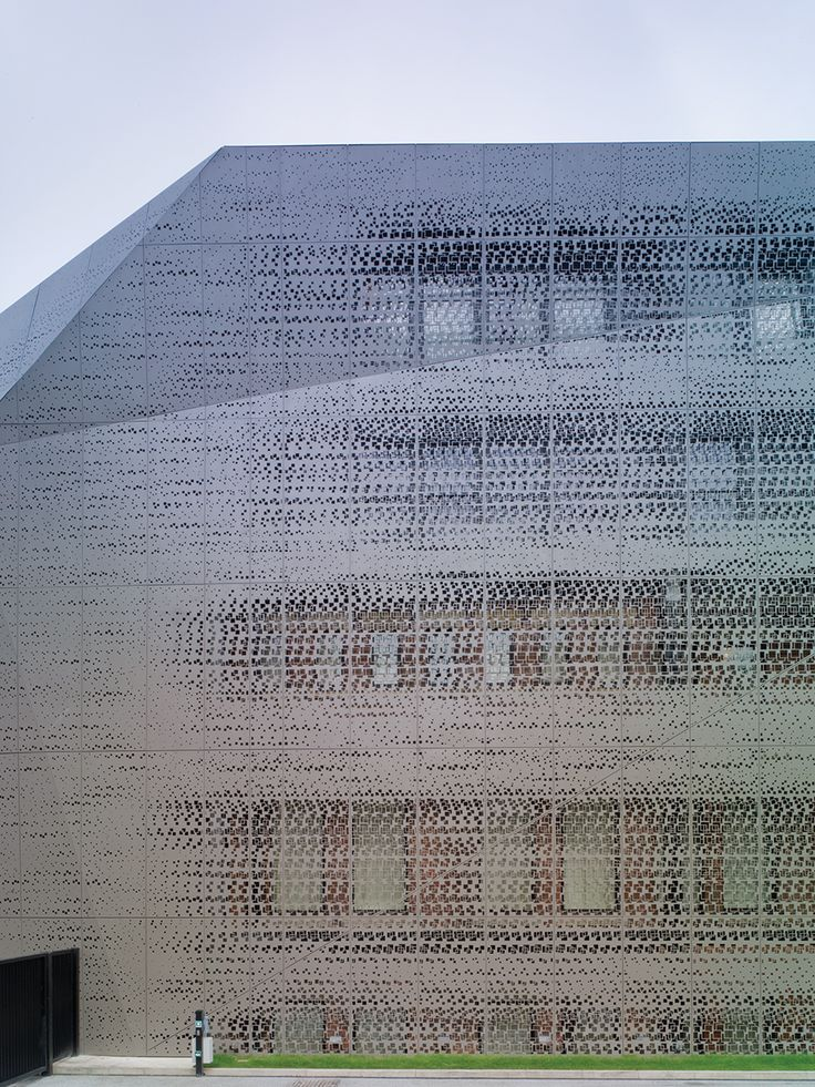 A/N Blog . Rare Architecture's Perforated Skin Design