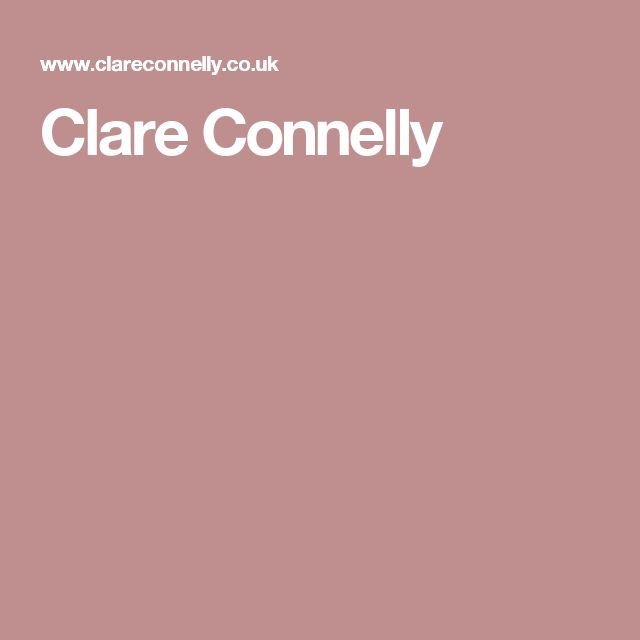 Clare Connelly