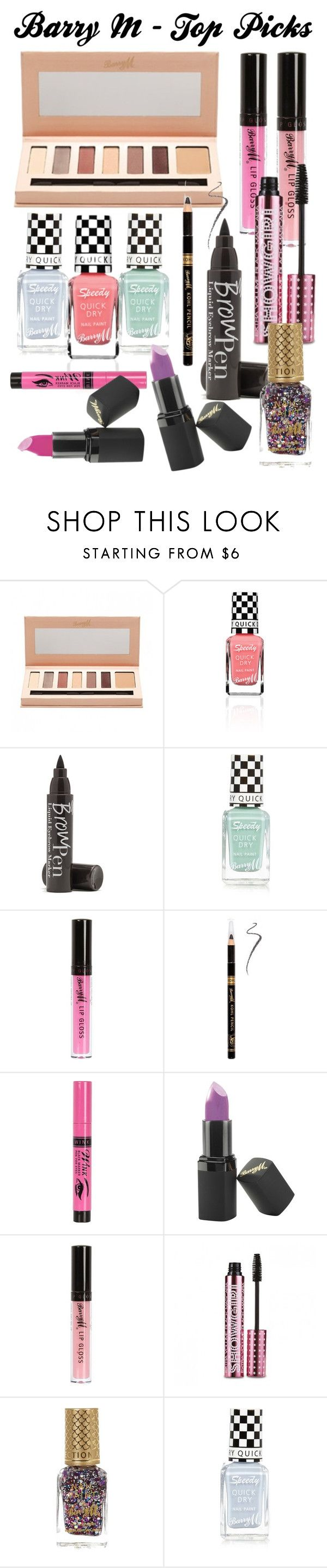 Barry M - Top Picks by stylebycharlene on Polyvore featuring beauty, Barry M and River Island