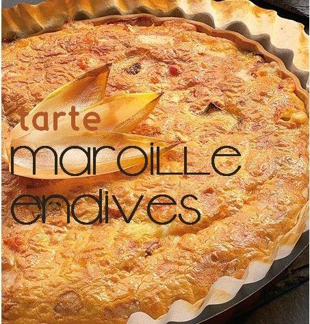 tarte maroille/endives: recette de Vihyko - école petite section
