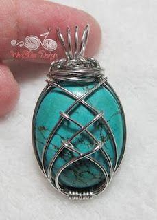 inspirational idea: Wire Jewelry, Jewelry Tutorials, Jewelry Making, Wire For, Diy Jewelry, Wire Wrap Jewelry, Jewelry Ideas, Wire Wrapping