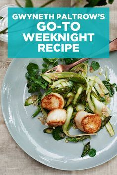 Take a peek inside Gwyneth Paltrow's new cookbook, It's All Easy, with this fast and easy weeknight recipe!