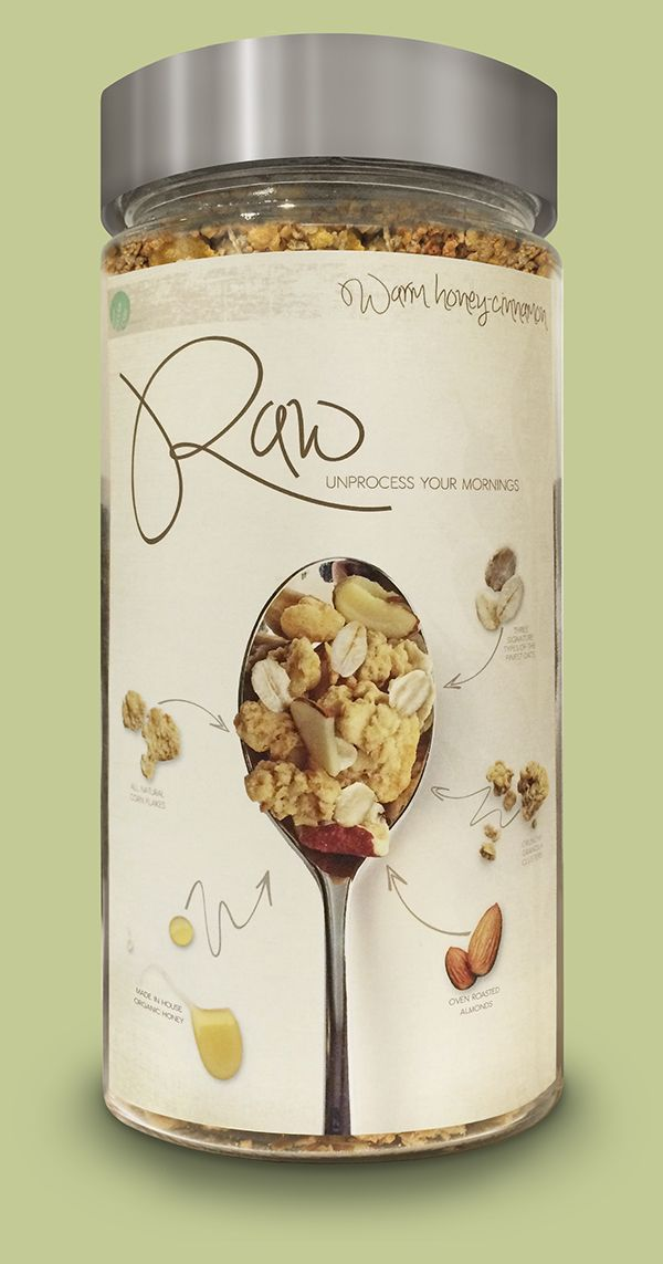 Raw Cereal on Behance