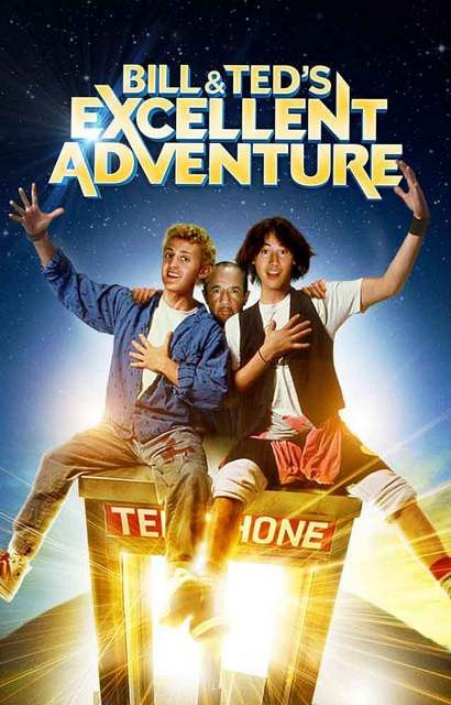 Bill and Ted's Excellent Adventure Movie Poster 11x17