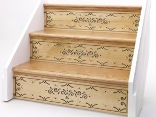 Very Neat Stair Risers