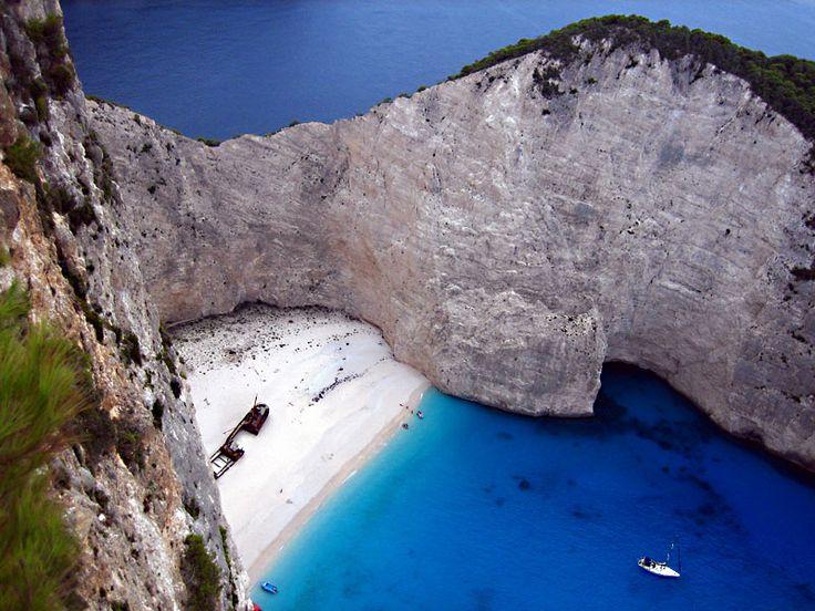 Zakynthos/Zante, Greece (navagio-shipwreck)