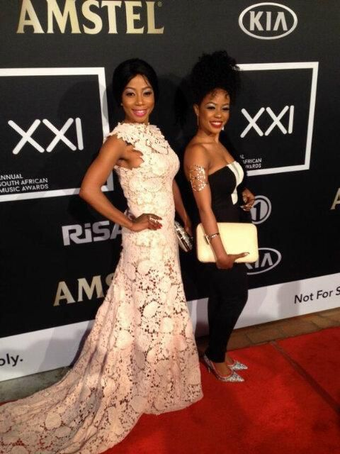 Kelly Khumalo And Her Sister Zandi