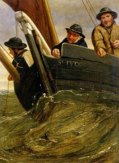 Deep Sea Fishing, 1861 by James Clarke Hook (British 1819–1907)