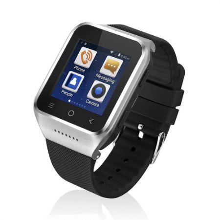 S8 Bluetooth 3.0 Smart Bracelet Watch (Android 4.4, 3G WCDMA, GPS, WiFi, Android Apps, HD Camera) - Silver