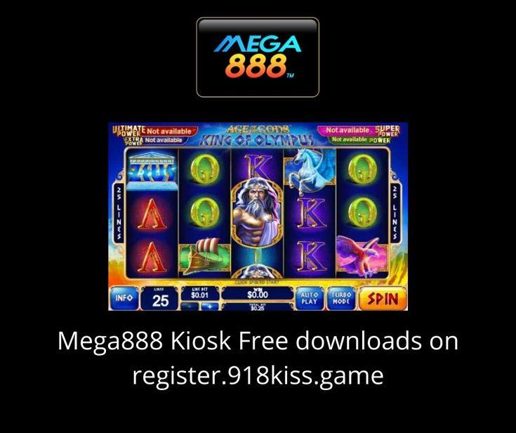 Download Mega888 Kiosk FREE in 2020 Kiosk, Sea world, Slot
